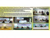 Advertorial Rangkaian Kegiatan Sosialisasi Peraturan Daerah Sekretariat DPRD Kota Tomohon Tahun 2020