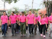Pemkot Gelar Jalan Sehat Peringati HUT Satpol-PP, Linmas dan Damkar