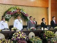 Eman Paparkan Pencapaiaan Keberhasilan, Dalam Rapat Paripurna Istimewa Hut ke-14 Kota Tomohon