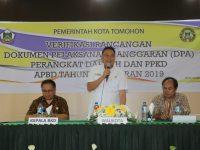 Wali Kota Buka Secara Resmi Kegiatan Verifikasi DPA Perangkat Daerah