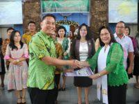 Wali Kota Lantik Panitia Natal KKPGA GMIM