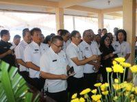 Ibunda SAS Meninggal, Pemkot Tomohon Gelar Ibadah Penghiburan