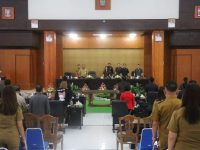 Lolowang Hadiri Rapat Paripurna Pemandangan Umum Tentang Perubahan Perda 1/2016
