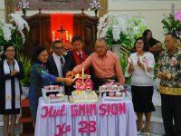 Wongkar Hadiri Perayaan HUT ke-28 Jemaat GMIM Sion Woloan