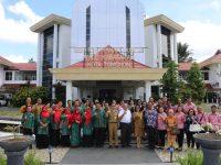 Mandagi Terima Kunker dari Kabupaten Gorontalo dan BKSAU Prov SULUT