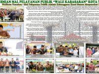 "Advertorial Peresmian Mal Pelayanan Publik ""Wale Kabasaran"" Kota Tomohon"