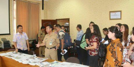 Bagian Humas dan Protokol Tomohon Kunker ke Pemkot Denpasar dan Pemkab Badung