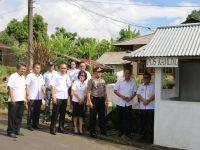 Lokasi Pemasangan CCTV di Tara-tara Ditinjau Wali Kota dan Kapolres Tomohon