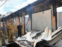 Usai Terbakar, RKB Baru di SMP Katolik BHKY Woloan Bakal Dibangun Pemkot