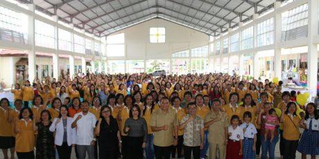 Pemkot Tomohon Gelar Dialog Bersama Masyarakat serta Pencanangan Imunisasi Campak dan Rubella