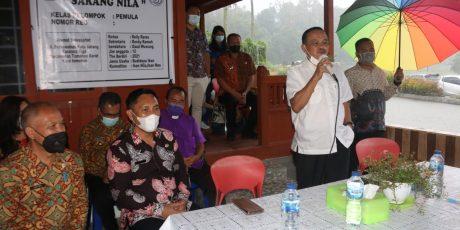 WL Kukuhkan Pokdakan Sarang Nila di Kelurahan Taratara