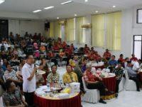 """Hadiri """"Kick Of Meeting"""" di Palu Sulteng, Eman Paparkan Rencana Aksi Pencegahan Korupsi Terintegritas"""