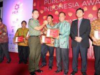 Pemkot Tomohon Terima Penghargaan Public Rrlation Indonesia Awards 2017