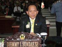 Ketua DPRD Tomohon Dukung Penyemprotan Disenfektan Cegar Covid-19