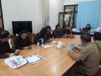 Instansi Teknis Bersama DPRD Tomohon Bahas Pembuatan Kartu Tani