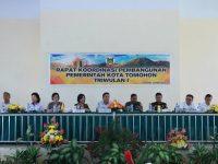 Pemkot Tomohon Gelar Rapat Koordinasi Pembangunan