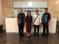 Pansus P3 DPRD Tomohon Konsultasi di Kementerian ATR/BPN