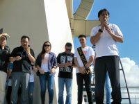 SAS Sambut Global Youth Day GMAHK Daerah Minahasa di Menara Alfa Omega