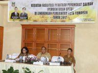 Pemkot Tomohon Bakal Bentuk UPTD