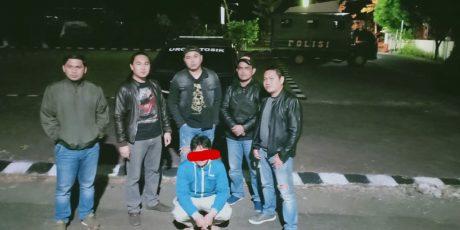 URC Totosik Berhasil Tangkap Buronan Pelaku Penganiayaan