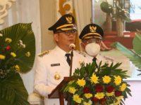 CS-WL Dilantik Jadi Wali Kota dan Wakil Wali Kota Tomohon Periode 2021-2024