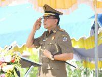Eman Jadi Irup Peringatan Hut Sat Pol-PP, Linmas dan Damkar