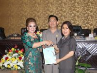 Pemkot Tomohon Ajukan RAPBD Perubahan ke DPRD