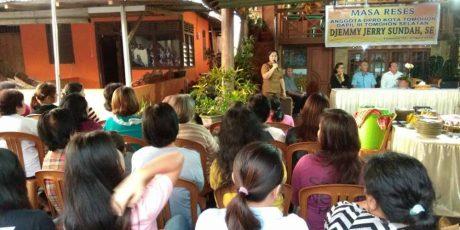 Djemmy Sundah Terima Aspirasi Konstituen di Tomohon Selatan