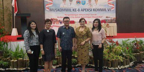 SAS Hadiri Muskomwil ke-8 Apeksi Komisariat VI di Ternate