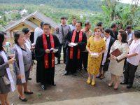 Wakil Wali Kota Tomohon Hadiri Peresmian Jemaat GMIM Bukit Sion Kayawu