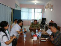 Pengurus LPA Tomohon Audiens dengan Wali Kota