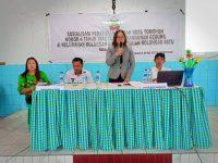 Perda 4/2014 Disosialisasikan di Kolongan dan Kolongan Satu