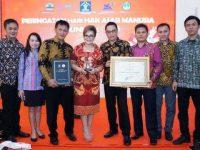 Tomohon Hatrick Raih Penghargaan Kota Peduli HAM