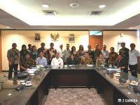 Pansus P3 DPRD Tomohon Konsultasi di Kementrian Dikbud