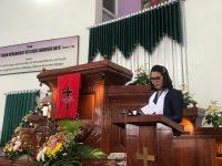 Wakili Wali Kota, Bororing Hadiri Ibadah Pengutusan Pendeta di Getsemani Lansot
