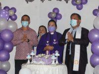 Pontororing Hadiri Syukur Hut ke-3 Jemaat GMIM Damai Lahendong
