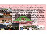 Advertorial Upacara Peringatan Hut ke-18 Kota Tomohon
