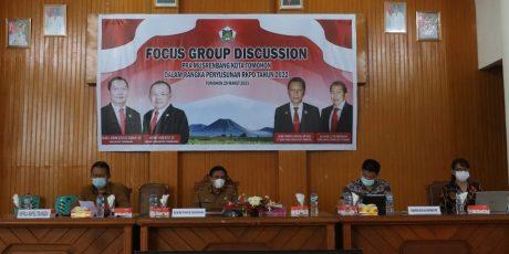 Ringkuangan Hadiri Pra Musrenbang Penyusunan RKPD 2022