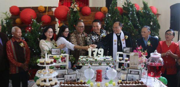 Eman Hadiri Puncak Perayaan HUT ke-179 Jemaat GMIM Sion Tomohon