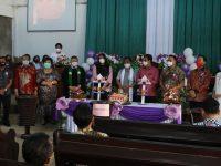 Perayaan Hut ke-3 Jemaan GMIM Bukit Sion Kayawu Dihadiri Wali Kota Tomohon