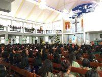 Wali Kota Tomohon Hadiri Ibadah Pra Natal Jajaran Dikbud