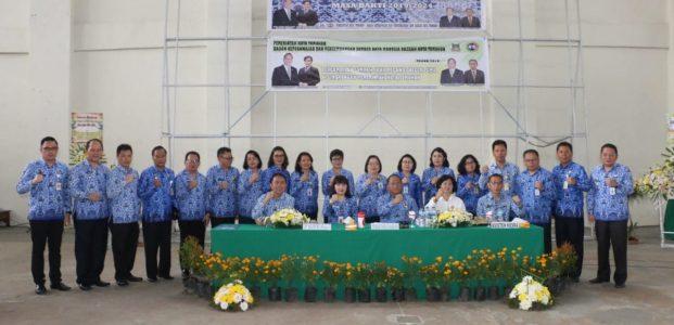 Dewan Pengurus Korpri Kota Tomohon Masa Bakti 2019-2024 Dikukuhkan
