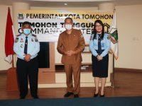 Eman Terima Kunjungan dari Kepala LPKA Tomohon