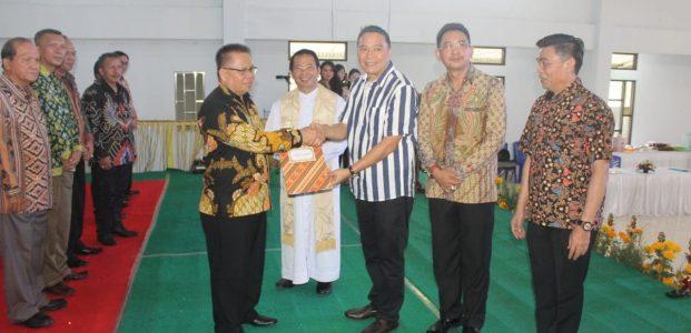 Wali Kota Tomohon Lantik Pengurus LP3KD
