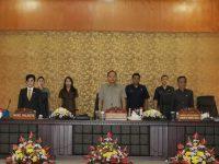 Fraksi-fraksi di DPRD Tomohon Setujui Ranperda Dibahas