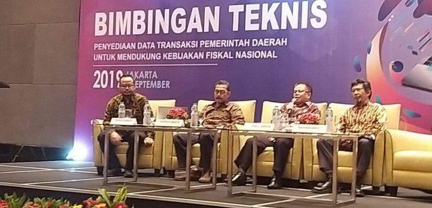 Mogi Tampil Sebagai Narsum di Bimtek Penyediaan Data Transaksi Pemda di Jakarta
