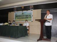 Eman Hadiri Rekonsiliasi PBB-P2 Kota Tomohon