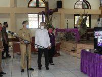 Senduk Tinjau Lokasi Pelaksanaan Sidang Majelis Sinode Istimewa ke-80