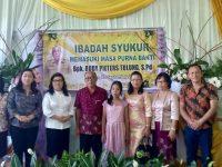 Karwur Hadiri Serah Terima Kepsek SMP Kristen Tomohon