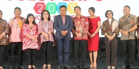 Eman Hadiri Penutupan Sulut Expo 2019